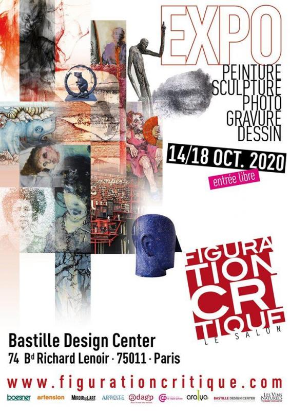 affiche Figuration critique 2020