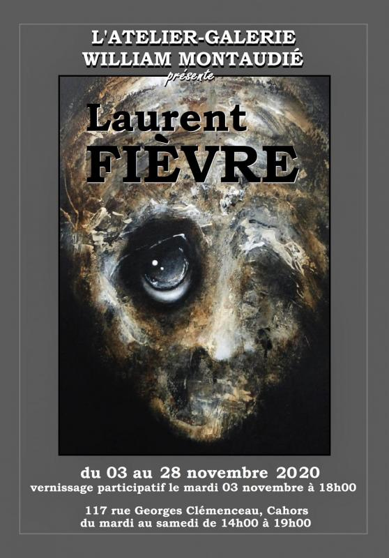 affiche expo Laurent Fièvre