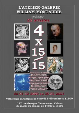 Affiche '4x15/15'