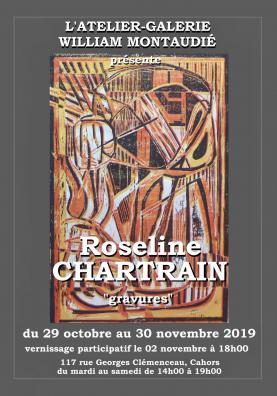 Affiche 'Gravures' Roseline Chartrain