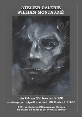 Affiche atelier-galerie février 2020