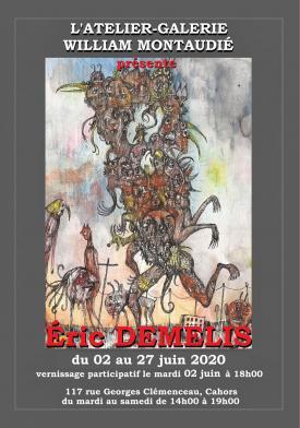 Affiche expo Éric Demelis