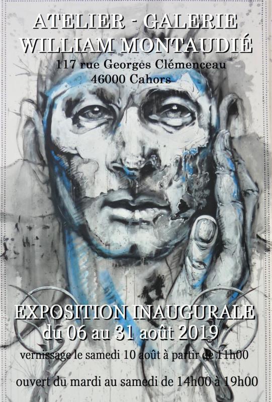 Affiche atelier galerie