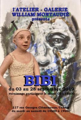 Affiche expo BIBI