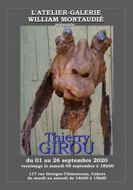 Affiche expo Thierry Girou